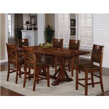 austin hills dining counter height table u0026 4 chairs 1288t