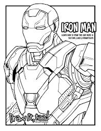 iron man mark 46 captain america civil war tutorial u2013 draw it too