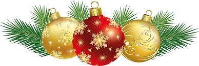 christmas decorations clipart u2013 happy holidays