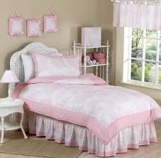 pink toile girls bedding twin or full queen kids comforter sets