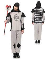 Men Black Halloween Costume Leg Avenue Men U0027s Card Guard Costume Black Large Walmart