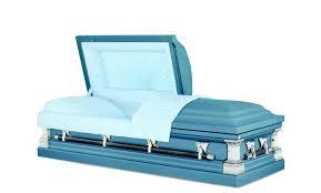 blue casket winthrop blue 18 steel casket east casket sales