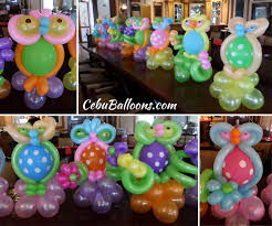 owl centerpieces whimsical owl cebu balloons and party supplies