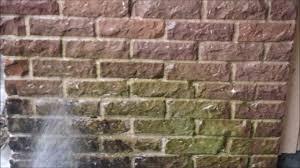 power washing a brick house youtube
