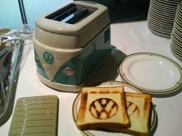 Coolest Toasters Strange Auto Accessories And Gadgets Cool Volkswagen Combi
