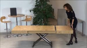 spaceman boxster space saving dining table youtube