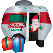 selling attractive style 6 5 airblown animated santa in