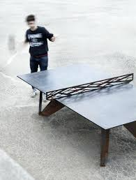 outdoor table tennis dining table table tennis dining table if you love ping pong you are going to be