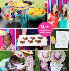olé piñata cookie themed party cinco de mayo party cinco de