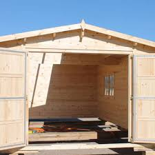 porte per box auto eleganti box in legno per auto in offerta legnonaturale
