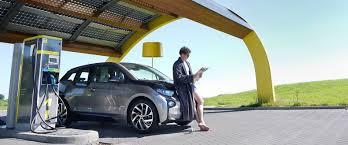 nissan leaf charging points ev charging station inhabitat green design innovation