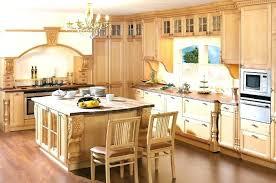 meuble de cuisine en bois cuisine en bois naturel cuisine bois naturel facade meuble cuisine