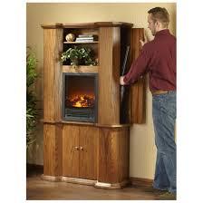 castlecreek gun storage fireplace walnut 310948 fireplaces at