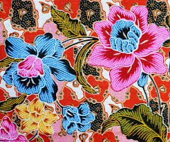 colorful batik cloth fabric background tapestry textile by