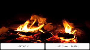 free halloween background sounds fireplace sound live wallpaper android apps on google play