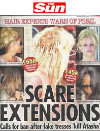 glue in extensions scare extensions calls for ban after glue kills girl the