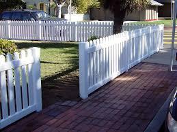 Patio Fences Ideas by Vinyl Front Yard Fence U2026 Pinteres U2026