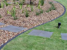 Stones For Patio 18 Flower Bed Ideas Small Retractable Clothesline Outdoor
