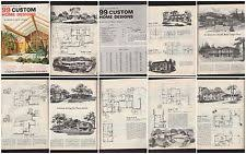 house planners mid century house plans ebay
