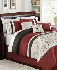 Embroidered Bedding Sets Closeout Bella Donna 7 Piece Embroidered Comforter Sets Bed In