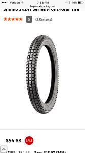 Most Comfortable Tires Shinko Sr 241 In 130 18 80 Front Tire