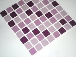 Tile Stickers For Kitchen Pack Of 10 Lilac Purple Mosaic Tile Transfers Stickers Quickly