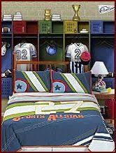 sports themed bedrooms for boys decor ideas pinterest