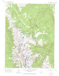 Colorado Lakes Map by Twin Crater Lakes