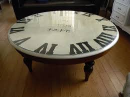 Clock Coffee Table Top 20 Of Coffee Tables With Clock Top