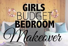 bedroom makeover on a budget girls budget bedroom makeover youtube