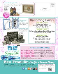 ben franklin crafts and frame shop mother u0027s day sale in bonney lake