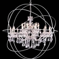 Glass Orb Chandelier Furniture Orb Chandelier For Interior Ideas U2014 Thewoodentrunklv Com