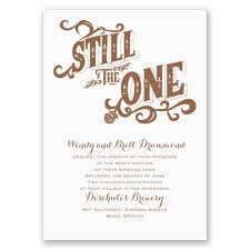 vow renewal invitations still the one vow renewal invitation invitations by