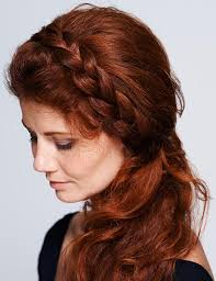 braid band side braid hairstyles