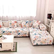 housse plastique canapé housses de canapé fleuri imprimé housse de canapé salon couverture