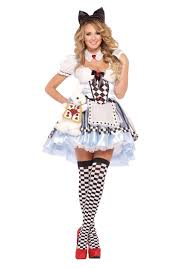 Cheap Size Womens Halloween Costumes Alice Wonderland Halloween Costumes