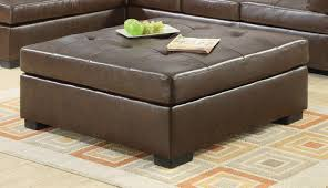 Tufted Leather Cocktail Ottoman by Furniture Nice Oversized Ottoman For Living Room Furniture Idea