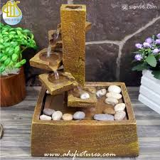 table top water fall waterfall on steps tabletop desktop water fountain for home