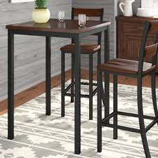 Extendable Bar Table Square Pub Tables Bistro Sets You Ll Wayfair