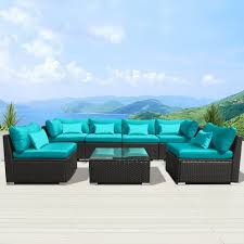 amazon com modenzi 7g u outdoor sectional patio furniture