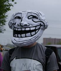 Troll Meme Mask - troll guy mask