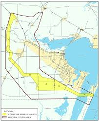 Corpus Christi Map Regional Parkway Mobility Corridor Feasibility Study