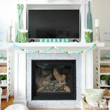 Easter Fireplace Mantel Decorations by Simple Easter Mantel Decor The Happy Housie