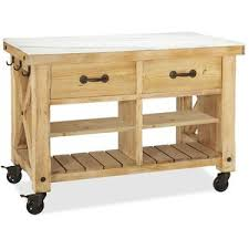 marble top kitchen island pottery barn hamilton reclaimed wood marble top kitchen island