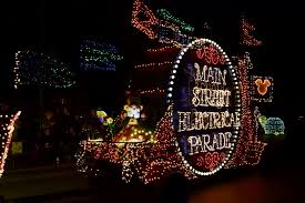 disney electric light parade best viewing of the main street electrical parade