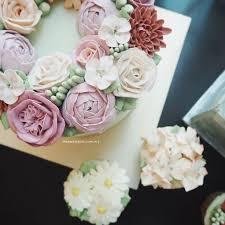 69 best buttercream flower cakes images on pinterest buttercream