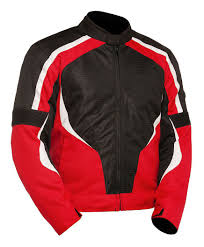 red motorcycle jacket bilt racer jacket cycle gear