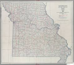 Missouri State Map Maps Of Missouri