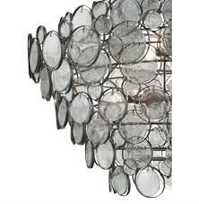 iona coastal style recycled glass medallion iron 12 light