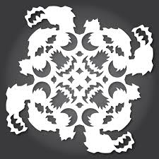 diy wars themed paper snowflake patterns for the 2014